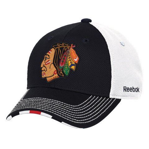 Chicago Blackhawks Reebok 2017 Winter Classic Coaches Flex Hat