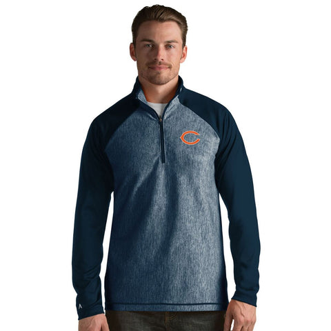 Chicago Bears Men's Playmaker Lightweight Jacket-Navy By Antigua - Pro Jersey Sports
