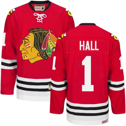 Glenn Hall Chicago Blackhawks Heroes Of Hockey Home Replica Jersey By CCM