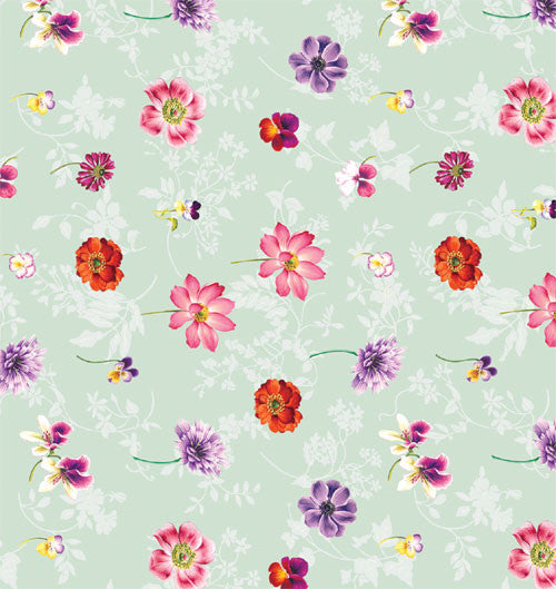 Floral wrapping papers simply for u floral mix gift wrapping paper set of 3 sheets mightylinksfo