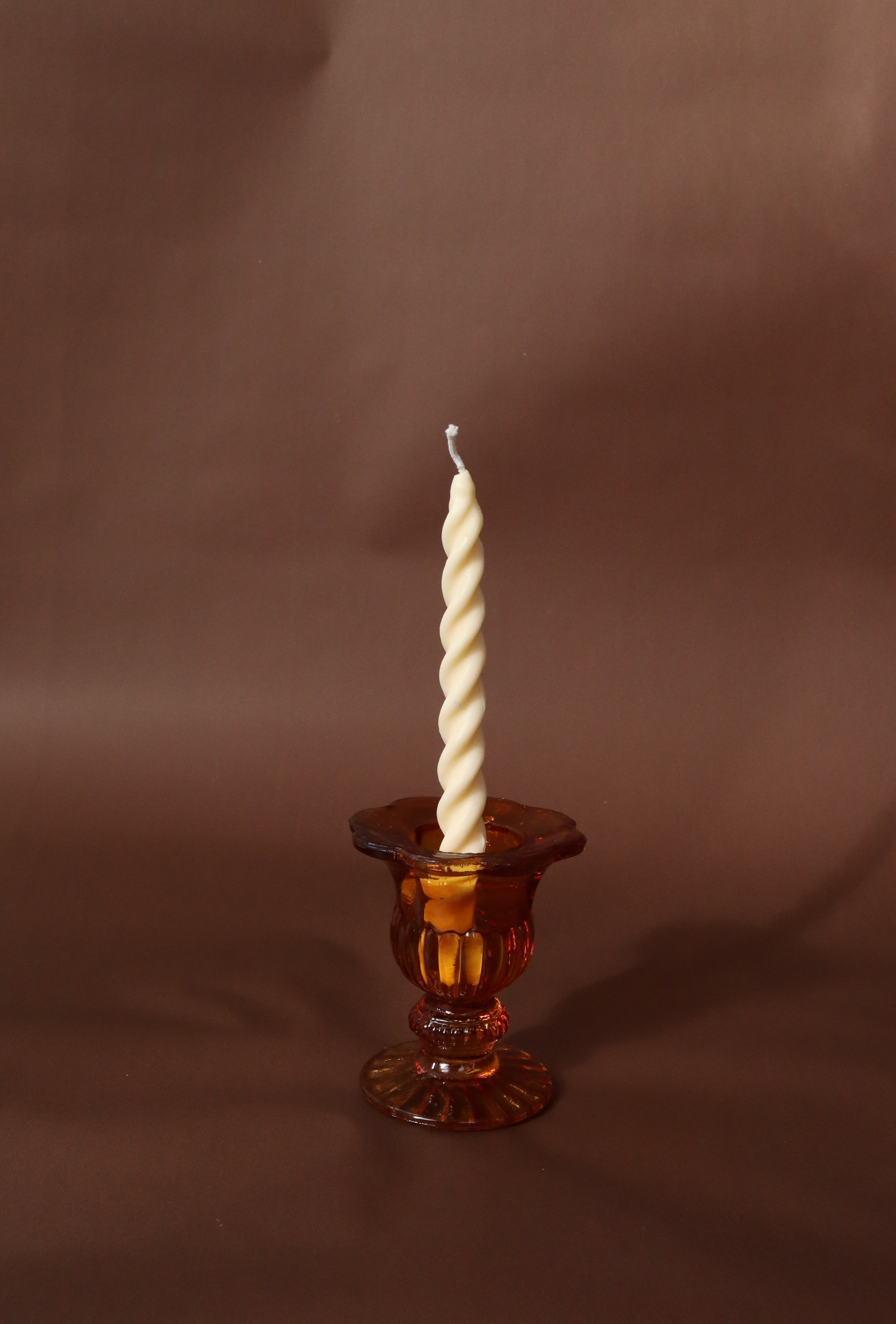 Victorian style taper candle holder