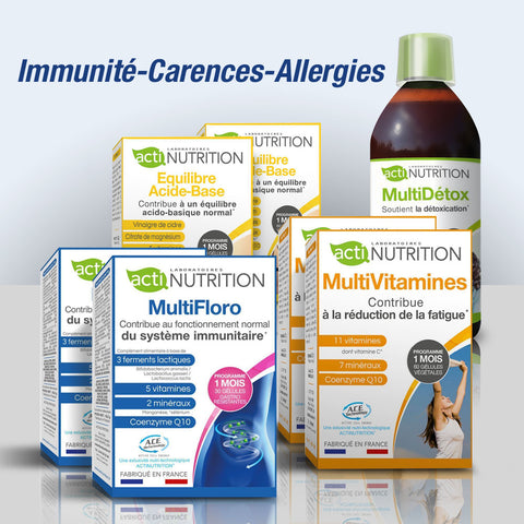 ActiBox Immunité-Carences-Allergies