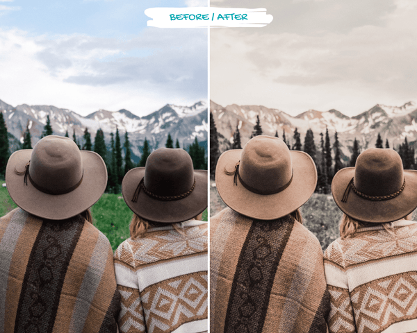 Muted Tones Presets