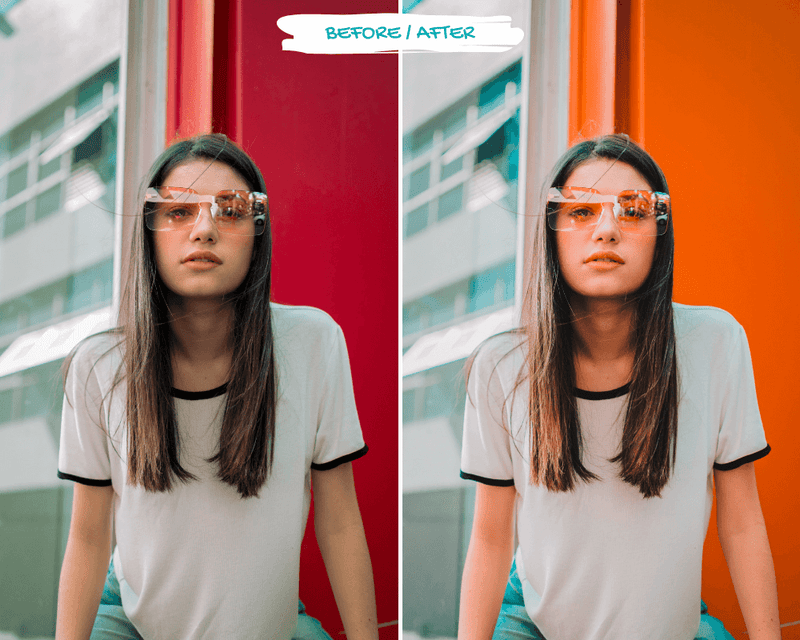 Orange and Teal Presets