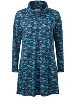 Load image into Gallery viewer, Abigail Hurricane Print Tunic in Teal - Renaissance Boutiques Ireland