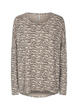 Load image into Gallery viewer, Biara Sweater in Cream Pattern - Renaissance Boutiques Ireland