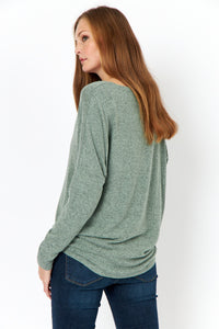 Biara Sweater in Green - Renaissance Boutiques Ireland