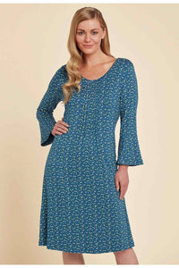 Carrie Dress in Teal - Renaissance Boutiques Ireland