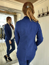 Load image into Gallery viewer, Casual Military Jacket in Navy Jacket Boutique