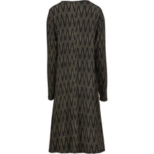 Load image into Gallery viewer, Guella Jersey Dress in Black Chevron - Renaissance Boutiques Ireland