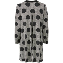 Load image into Gallery viewer, Gyda V Neck Spot Tunic in Black Tunic Masai