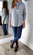 Load image into Gallery viewer, Iris Oversize Cowl Neck Knitwear in Grey - Renaissance Boutiques Ireland
