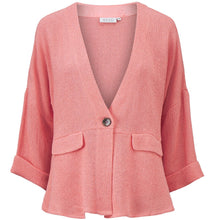 Load image into Gallery viewer, Jayla 3/4 Sleeve Jacket in Peach Blossom Jacket Masai