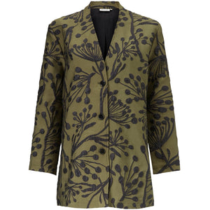 Josefi Lined Jacket in Green - Renaissance Boutiques Ireland