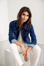 Load image into Gallery viewer, Kimberly Jacket In Dark Blue Denim Jacket Soyaconcept