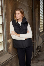 Load image into Gallery viewer, Nella Gilet in Black - Renaissance Boutiques Ireland