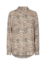 Load image into Gallery viewer, Nikola Pattern Shirt in Sand - Renaissance Boutiques Ireland