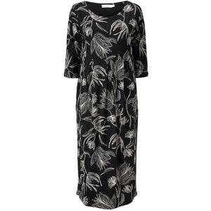 Nima Dress in Black Floral - Renaissance Boutiques Ireland