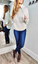 Load image into Gallery viewer, Nina Knit Hoodie with Bobble in Cream - Renaissance Boutiques Ireland