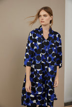 Load image into Gallery viewer, Nodetta V-Neck Dress in Blue Dot - Renaissance Boutiques Ireland