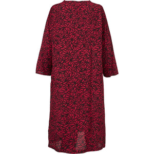 Nonie 3/4 sleeve Dress in Red - Renaissance Boutiques Ireland