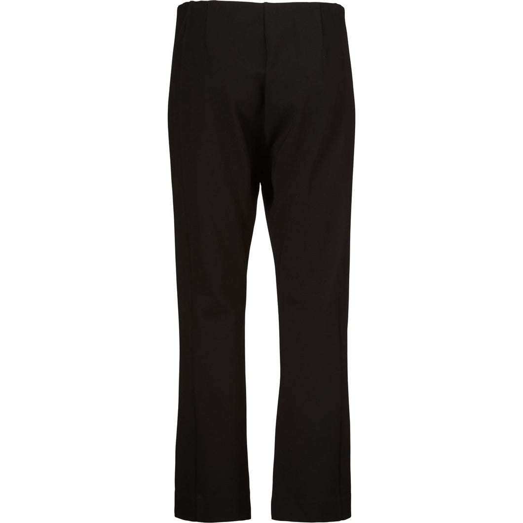 Paba Kick-Flare Trouser in Black - Renaissance Boutiques Ireland
