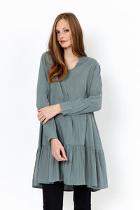 Radia Shift Dress in Green - Renaissance Boutiques Ireland