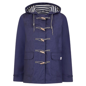 Short Waterproof Toggle Mac in French Blue - Renaissance Boutiques Ireland
