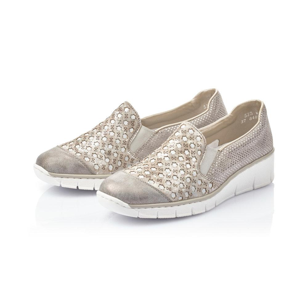Slip-on Shoe in Space Grey - Renaissance Boutiques Ireland