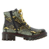 Snake Print Boot with Chunky Sole - Renaissance Boutiques Ireland