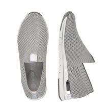 Load image into Gallery viewer, Textured Stretch Sneaker in Silver Grey Sneaker Remonte