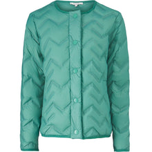 Load image into Gallery viewer, Tuve Short Down Jacket in Bottle Green Coat Masai