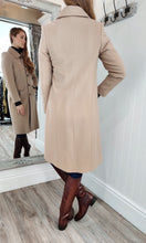 Load image into Gallery viewer, Wool and Cashmere Rich Tailored Coat in Camel - Renaissance Boutiques Ireland