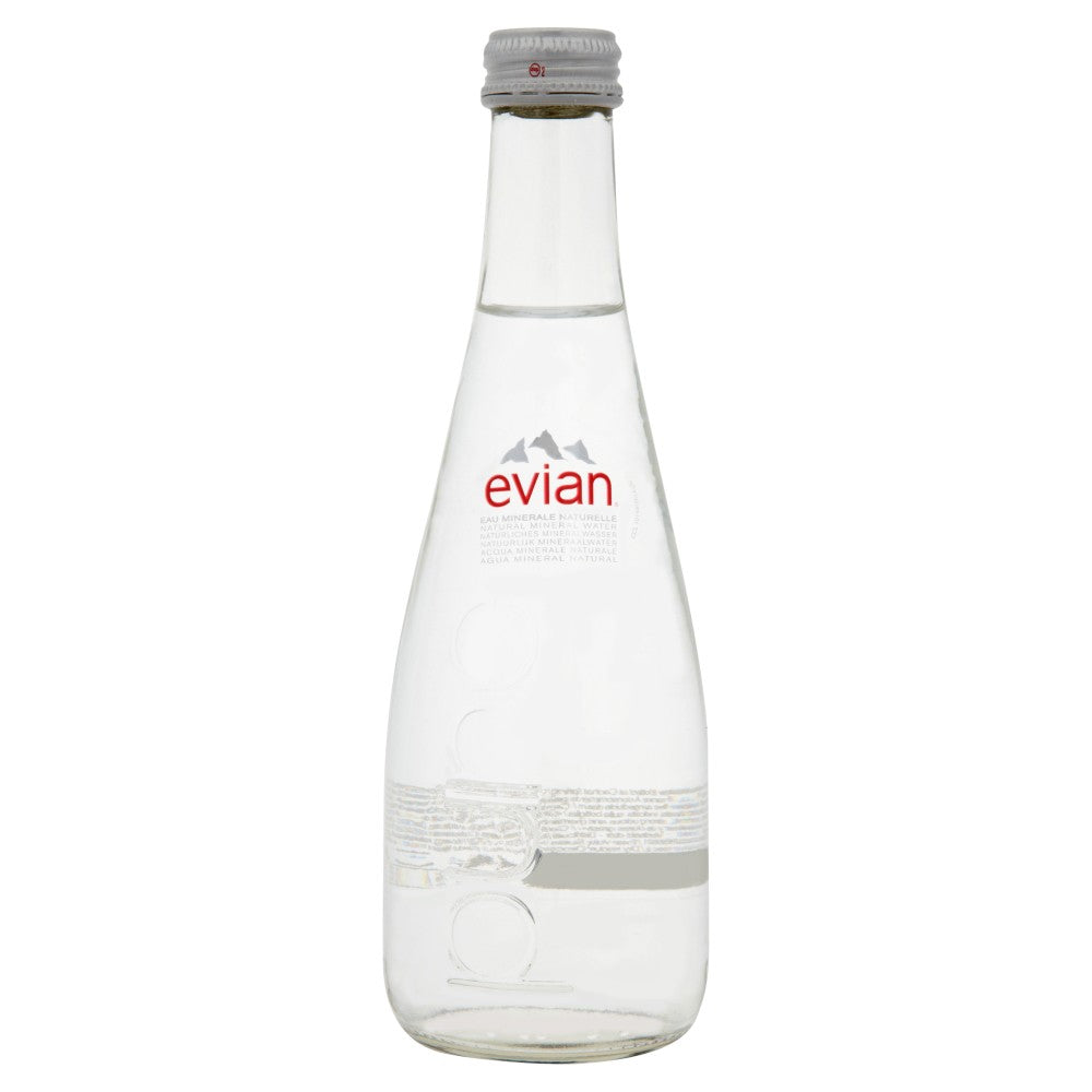 Evian Natural Spring Water (330ml)