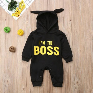 I'M THE BOSS ROMPER