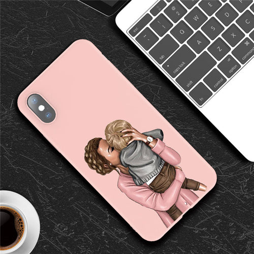 Mommy Kiss  - iPhone Case