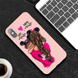 Baby Mouse & Mama Mouse - iPhone Case