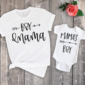 Mother and Baby Matchy T-shirt & Rompers