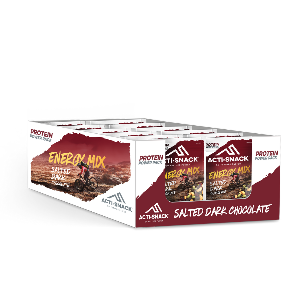 SALTED DARK CHOCOLATE ENERGY MIX POWERPACK