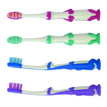 Dinosaur Suction Cup Kids Toothbrush