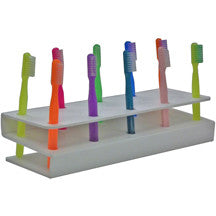 10 Hole Toothbrush Rack
