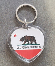 Load image into Gallery viewer, Cali Flag Bear Key-chain