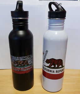 Cali Bear Metal Water Bottle