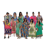 Set Of 12 Assorted Kaftans