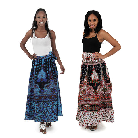 Peacock Long Skirt