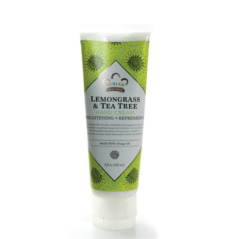 Lemongrass & Tea Tree Hand Cream - 4 oz.
