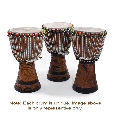 D'Jembe Drum: Medium 16-18""