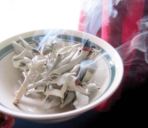 White Ceremonial Sage: 4 oz.