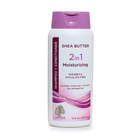 African Shea Butter Shampoo/Conditioner