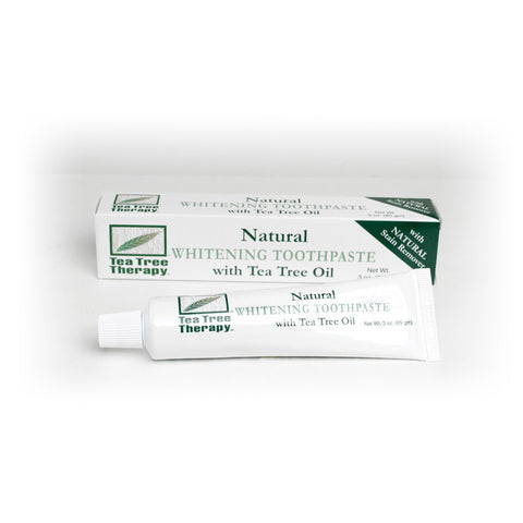 Natural Tea Tree Whitening Toothpaste